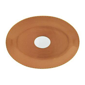 Raynaud - Tresor Orange Medium Oval Dish
