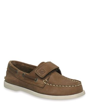 Sperry Boys' A/O Leather Boat Shoes - Toddler thumbnail