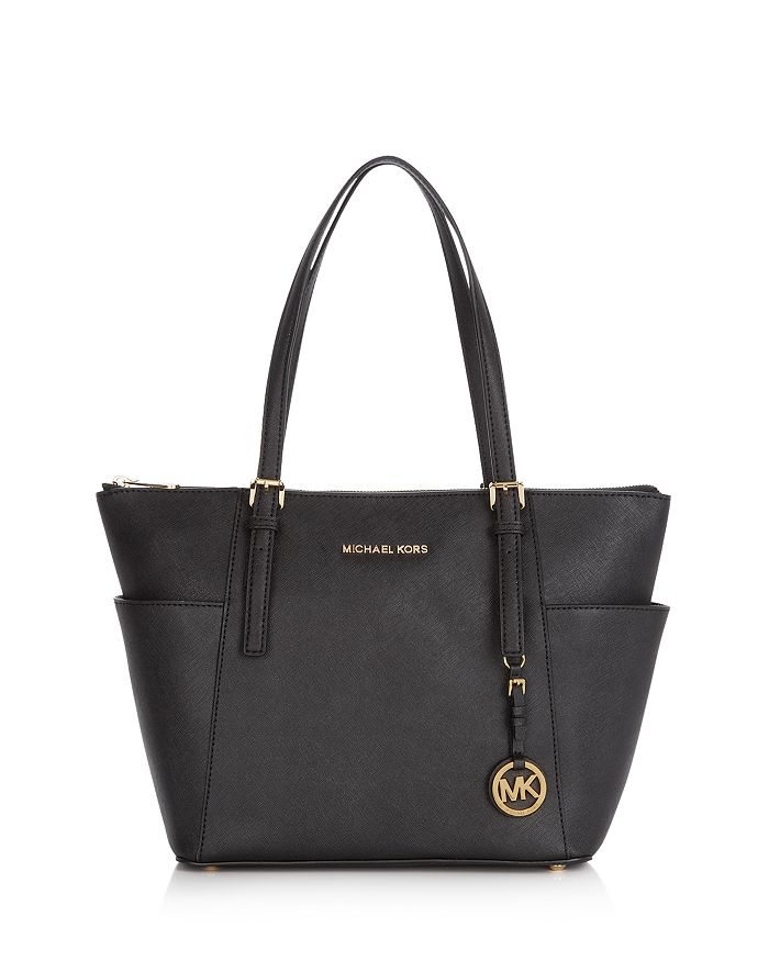 a4276a514e41 MICHAEL Michael Kors Jet Set East West Saffiano Leather Tote ...