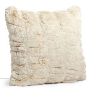 Hudson Park Sculpted Faux Fur Decorative Pillow, 20 x 20 - 100% Exclusive