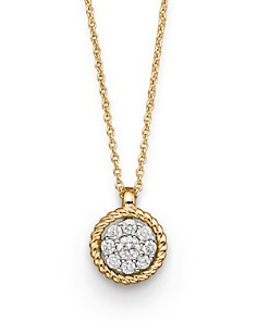 Diamond Cluster Pendant in 14K Yellow Gold, .20 ct.tw. - 100% Exclusive - Bloomingdale's_0