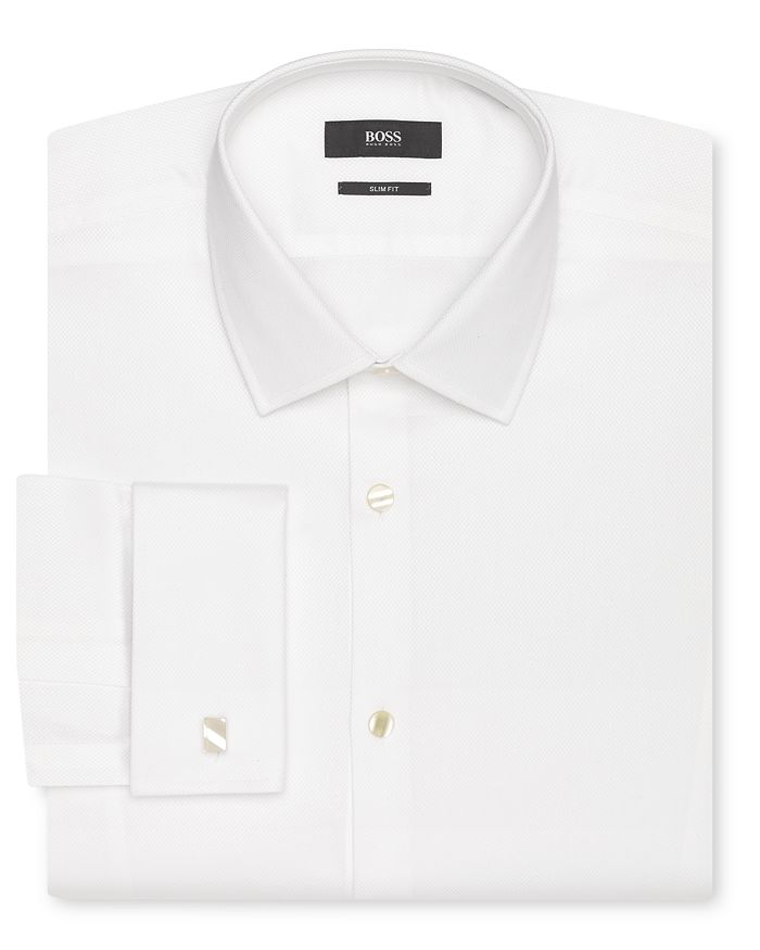 BOSS - Jameson Tuxedo Shirt - Slim Fit
