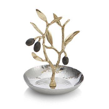 Michael Aram - Olive Branch Gold Ring Catch