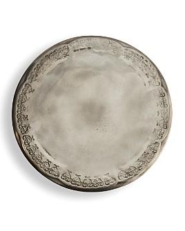 Arte Italica - Arte Italica Vintage Pewter Cake Plate