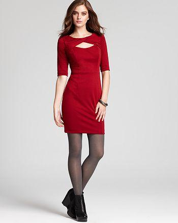 Cynthia Steffe - Parker Updated Ponte Dress