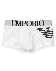 Emporio Armani Classic Eagle Trunks - Bloomingdale's_0