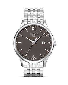 Tissot Tradition Men's Anthracite Quartz Classic Watch, 42mm - Bloomingdale's_0