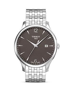 Tissot Tradition Men's Anthracite Quartz Classic Watch, 42mm