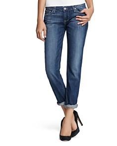 PAIGE - Boyfriend Jeans in Tigerlily