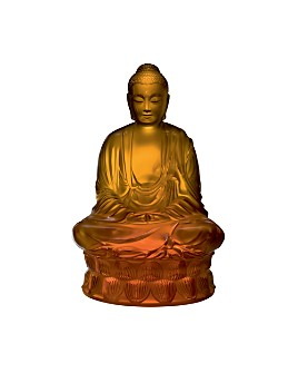 Lalique - Small Buddha Figure