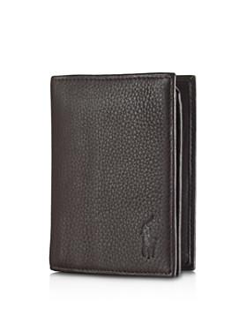 Ralph Lauren - Pebbled Leather Window Billfold Wallet