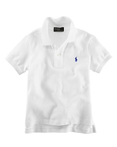 Polo Ralph Lauren Boys' Solid Mesh Polo Shirt - Little Kid - Bloomingdale's_0