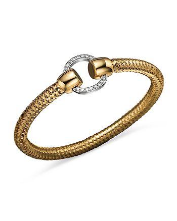 Roberto Coin - 18K Yellow and White Gold Primavera Diamond Bracelet