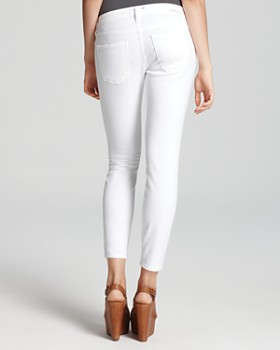 Current/Elliott - Jeans - The Stiletto Low Rise in Sugar Wash