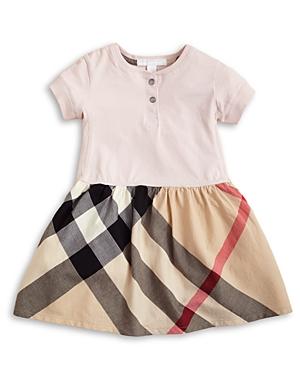 Burberry Infant Girls Jersey Woven Skirt Dress  Sizes 636 Months