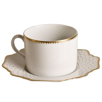 Anna Weatherley - Simply Anna Antique Polka with Gold Saucer