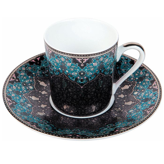 Philippe Deshoulieres - Dhara Peacock Coffee Saucer