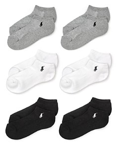 Polo Ralph Lauren Sport Ankle Socks, Set of 6 - Bloomingdale's_0