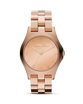 MARC JACOBS - Henry Glossy Watch, 36mm