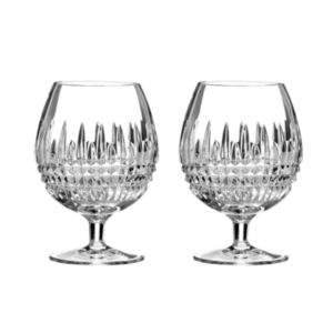 Waterford Lismore Diamond Brandy Glass, Set of 2