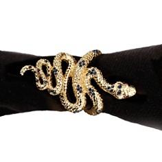 L'Objet - L'Objet Napkin Jewels Snake, Set of 4