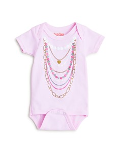 Sara Kety Girls' Pearl Necklace Bodysuit - Baby - Bloomingdale's_0