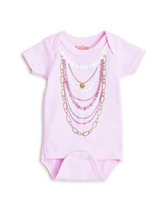 Sara Kety - Girls' Pearl Necklace Bodysuit - Baby