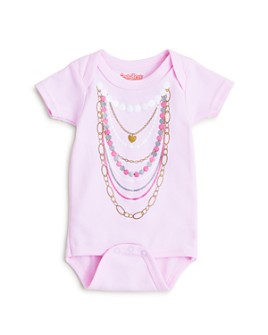 Sara Kety - Girls' Pearl Necklace Bodysuit - Baby