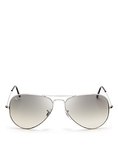 Ray-Ban Unisex Classic Aviator Sunglasses, 57mm - Bloomingdale's_0