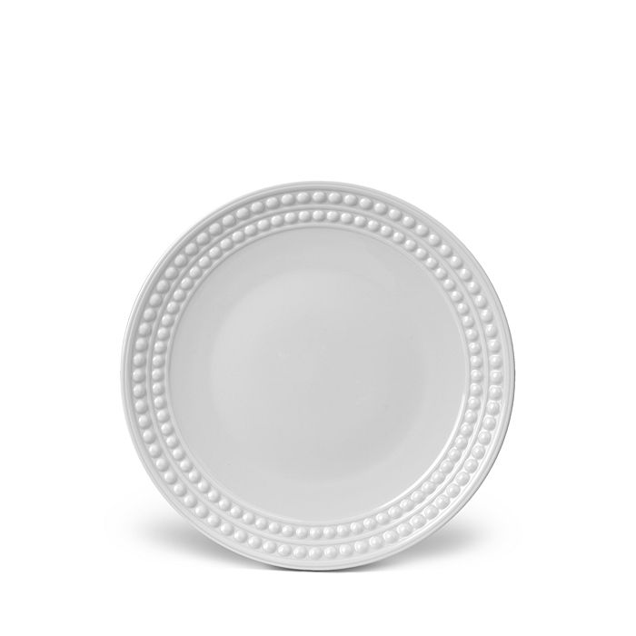 L'Objet - Perlée White Dessert Plate