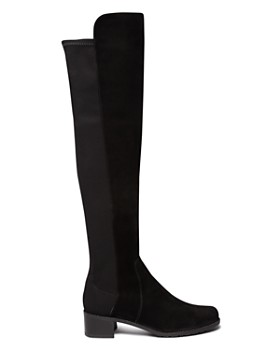 Stuart Weitzman - Women's Reserve Suede Over-the-Knee Boots