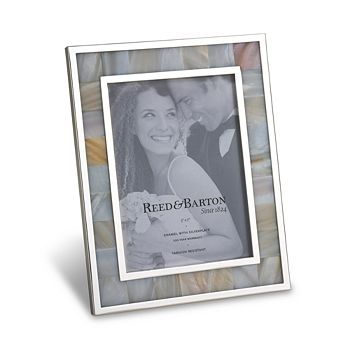 """Reed & Barton - Mother of Pearl Frame, 5x7"""""""