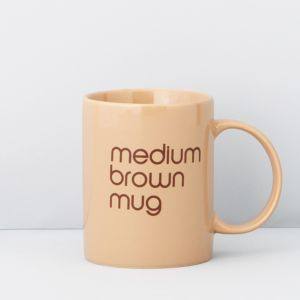 Bloomingdale's Medium Brown Mug - 100% Exclusive