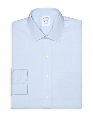 Brooks Brothers Regent Pinpoint Solid Non-Iron Classic Fit Dress Shirt