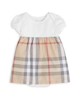 Burberry - Girls' Cherry Short Sleeve Checked Dress - Baby
