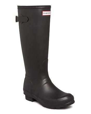 Hunter - Women's Original Adjustable Back Rain Boots