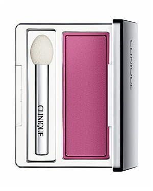 What It Is: Luscious matte color that glides on in one smooth, creamy stroke. What It Does: - Long-wearing, crease- and fade-resistant. - Ophthalmologist tested for even the most sensitive eyes and contact lens wearers. - Mirrored compact comes with a sponge-tip applicator. Ingredients: Talc, Zinc Stearate, Nylon-12, Dimethicone, Octyldodecyl Stearoyl Stearate, Silica, Astrocaryum Murumuru Seed Butter, Caffeine, Boron Nitride, Methicone, Caprylyl Glycol, Tocopheryl Acetate, Trimethylsiloxysilica
