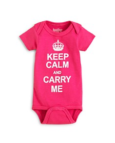 Sara Kety Girls' Keep Calm Bodysuit - Baby - Bloomingdale's_0