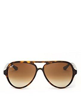 Ray-Ban - Unisex Brow Bar Aviator Sunglasses, 59mm