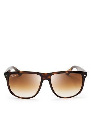$Ray-Ban Flat-Top Boyfriend Sunglasses, 60mm - Bloomingdale's