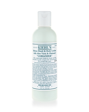 Kiehl's Since 1851 Deluxe Hand & Body Lotion with Aloe Vera & Oatmeal in Coriander