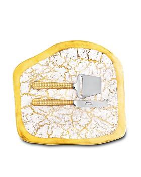 Michael Wainwright - Manhattan Gold Cheese Shaver & Knife Set