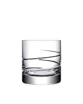 Orrefors - Swerve Double Old-Fashioned Glass, Set of 2