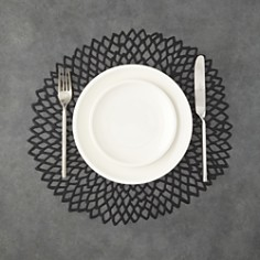 Chilewich Dahlia Pressed Vinyl Round Placemat - Bloomingdale's_0
