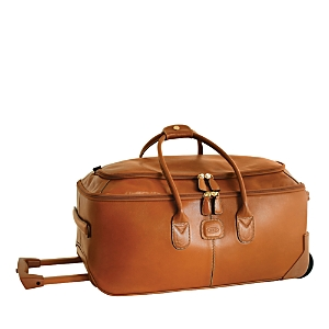Bric's Life Pelle 21 Carry On Rolling Duffel