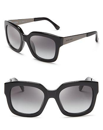 Michael Kors - Women's Leah Oversized Wayfarer Sunglasses