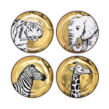 Jonathan Adler - Animalia Coasters, Set of 4