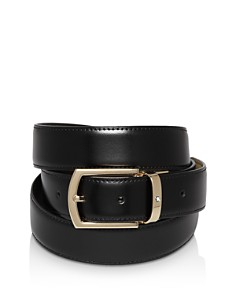 Montblanc Classic Line Rectangular Curved Buckle Reversible Belt - Bloomingdale's_0