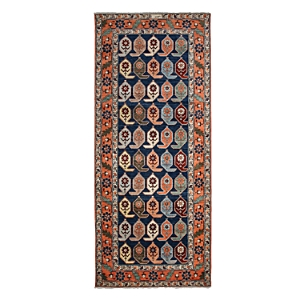 Adina Collection Oriental Rug, 5'1 x 11'10
