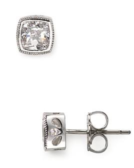 Nadri - Cushion Cut Stud Earrings